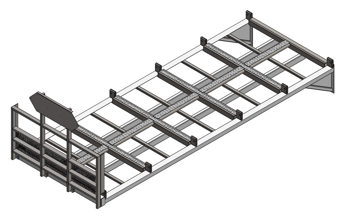 10 PALLET WITH FRONT FENCE
