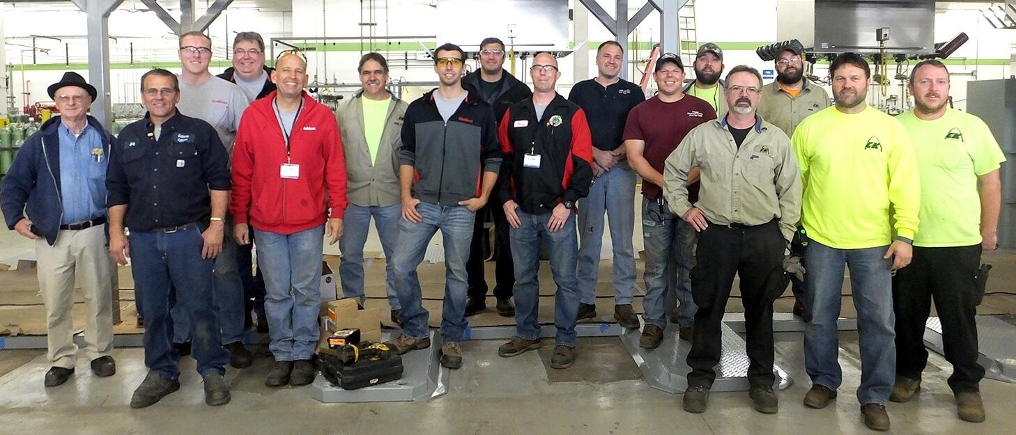 Cee Kay Supply employee group photo