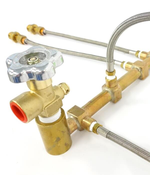 Manifold with Flex Leads
