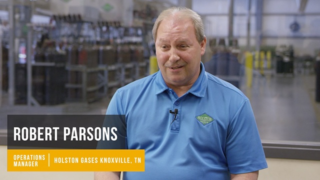 Robert Parsons from Holston Gases