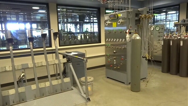 Weldcoa installed automated filling system at Nexair Specialty Gas