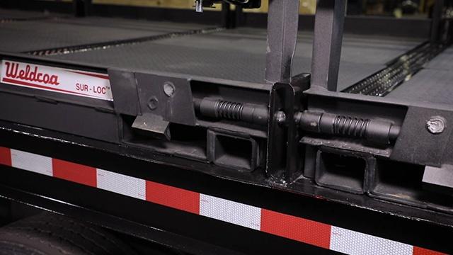 Removing a Weldcoa Sur-Loc Truck Pallet