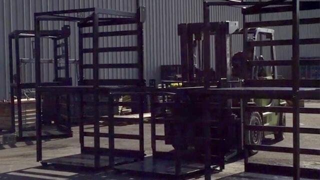 Various Weldcoa Stack-Loc gas pallets