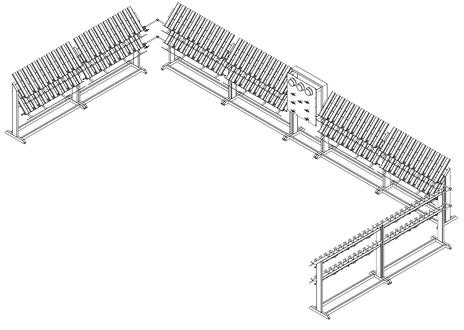MEDICAL E RACK LAYOUT 96 X 96 alone