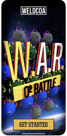 WAR app Home Screen