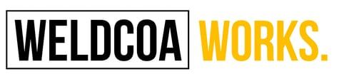 Weldcoa Works. Logo
