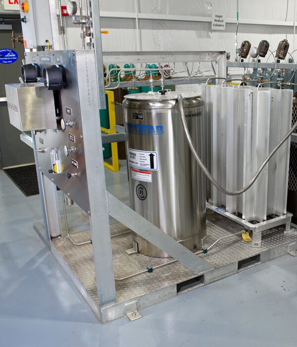 Helium Gas Purification System