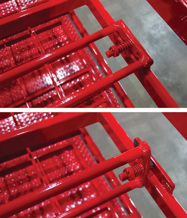 Stack-Loc B Pallet frame split
